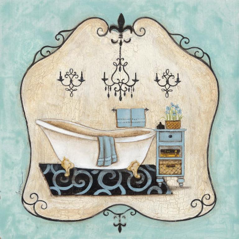 Laminas Baño Vintage:decoupage baño/ decoupage toilette